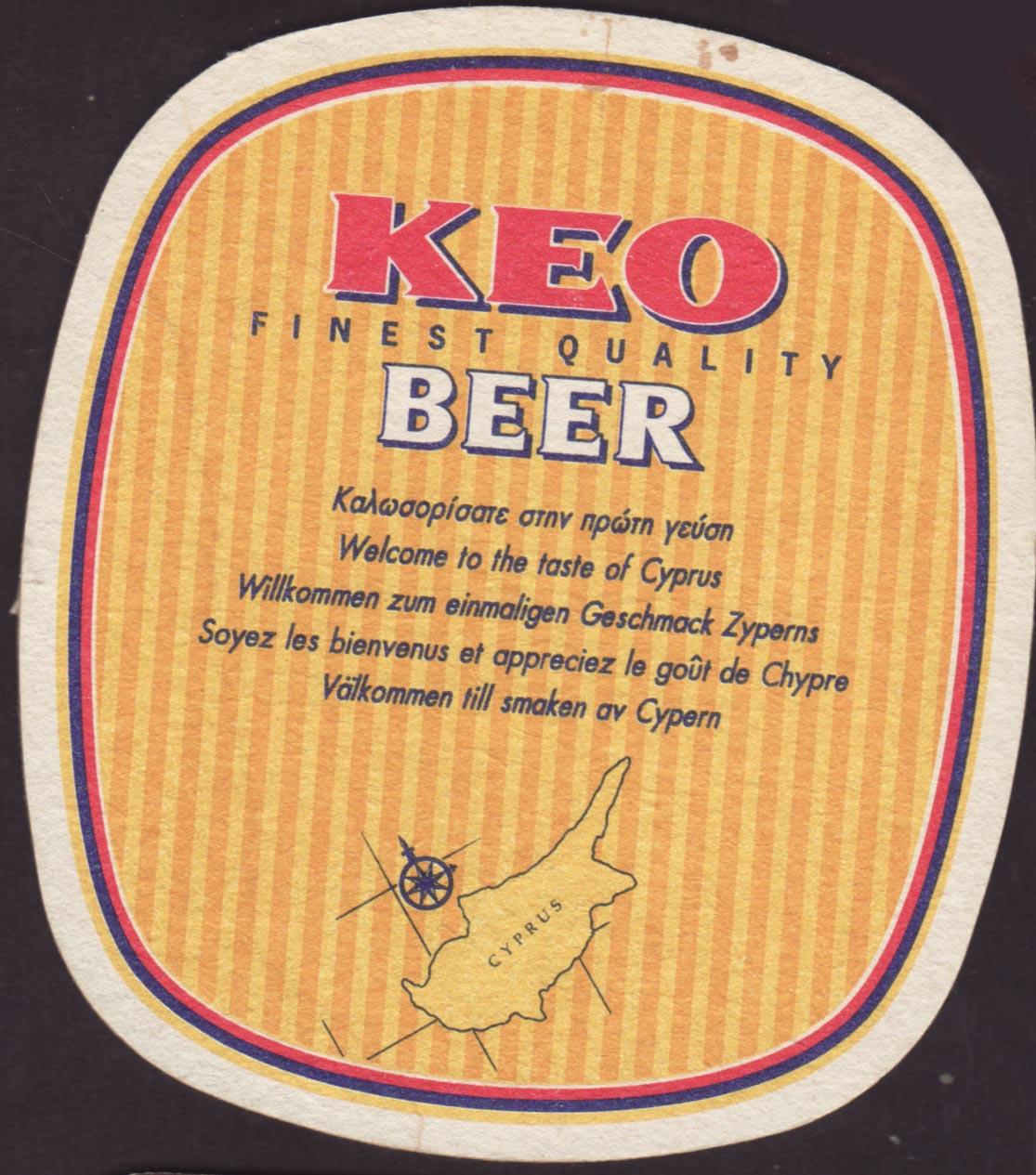 Pivní tácek keo-2-zadek