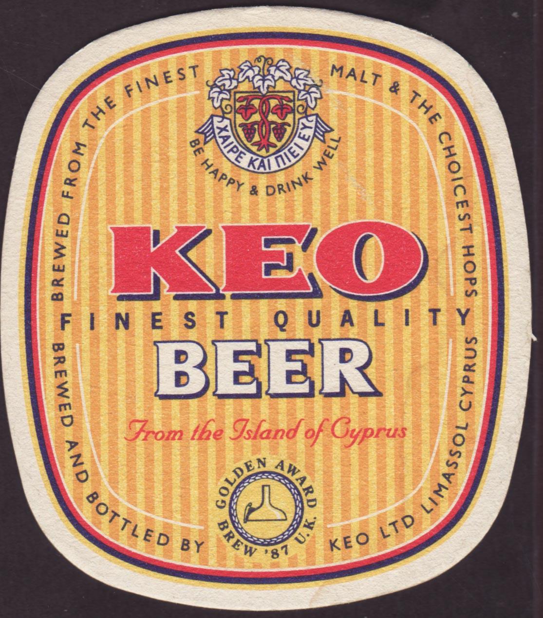 Pivní tácek keo-2