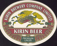 Pivní tácek kirin-2