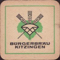 Pivní tácek kitzinger-burgerbrau-1-small