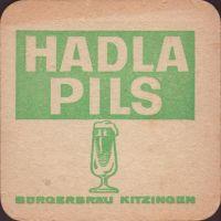 Pivní tácek kitzinger-burgerbrau-1-zadek-small