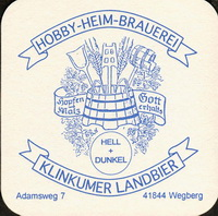 Beer coaster klinkumer-landbier-1-small