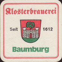 Beer coaster klosterbrauerei-baumburg-1-small