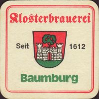 Beer coaster klosterbrauerei-baumburg-2-small