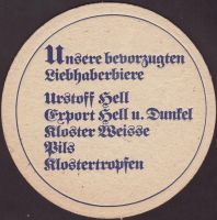 Beer coaster klosterbrauerei-furth-2-zadek-small