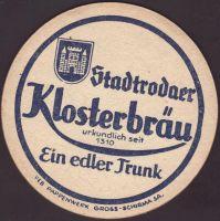 Beer coaster klosterbrauerei-stadtroda-1-small