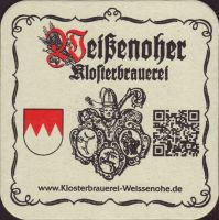 Beer coaster klosterbrauerei-weissenohe-3-small