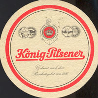 Pivní tácek konig-15
