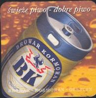 Beer coaster kormoran-1-zadek