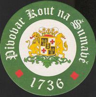 Beer coaster kout-na-sumave-1