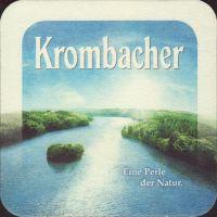 Beer coaster krombacher-48-zadek