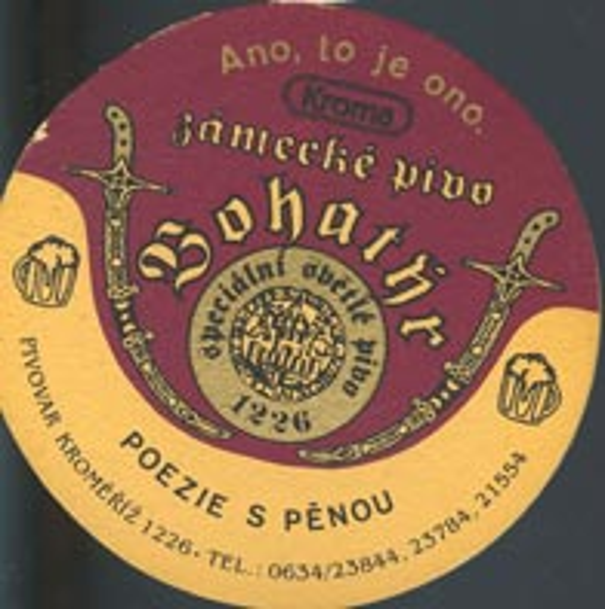 Pivní tácek kromeriz-2