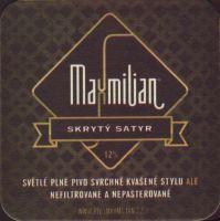 Beer coaster kromeriz-maxmilian-5-zadek-small