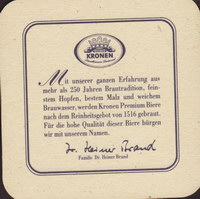 Beer coaster kronen-18-zadek-small