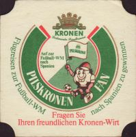 Beer coaster kronen-28-zadek-small