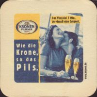 Beer coaster kronen-30-zadek-small