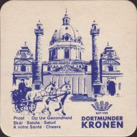Beer coaster kronen-43-zadek-small