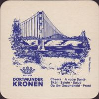 Beer coaster kronen-46-zadek-small