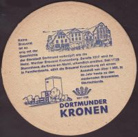 Beer coaster kronen-54-zadek-small