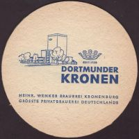 Beer coaster kronen-64-zadek-small