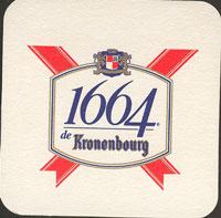 Pivní tácek kronenbourg-25-oboje
