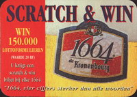 Pivní tácek kronenbourg-267