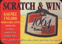 Pivní tácek kronenbourg-267-zadek