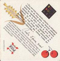 Pivní tácek kronenbourg-92-zadek