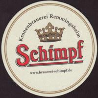Beer coaster kronenbrauerei-alfred-schimpf-1-zadek-small