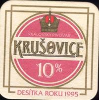 Pivní tácek krusovice-2