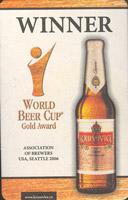 Beer coaster krusovice-47-zadek
