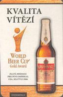 Beer coaster krusovice-47