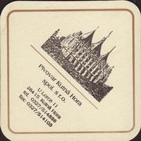 Beer coaster kutna-hora-18-zadek-small