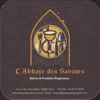 Pivní tácek l-abbaye-des-saveurs-1-small