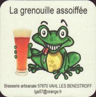 Pivní tácek la-grenouille-assoiffee-1-small