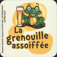 Pivní tácek la-grenouille-assoiffee-2-small