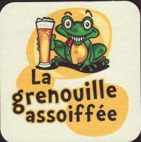 Pivní tácek la-grenouille-assoiffee-3