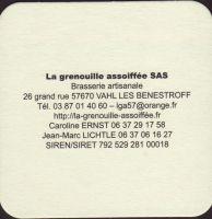 Pivní tácek la-grenouille-assoiffee-3-zadek