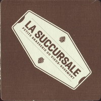 Beer coaster la-succursale-petite-brasserie-du-vieux-rosemont-1