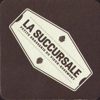Beer coaster la-succursale-petite-brasserie-du-vieux-rosemont-2