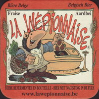Beer coaster la-wepionnaise-1-small