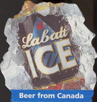 Beer coaster labatt-1