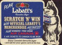 Beer coaster labatt-110