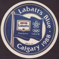 Beer coaster labatt-113-small