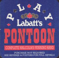Beer coaster labatt-115-small