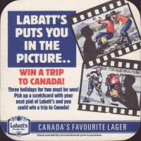 Beer coaster labatt-116-zadek-small