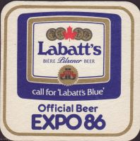 Beer coaster labatt-117-small