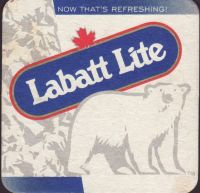 Beer coaster labatt-144-small
