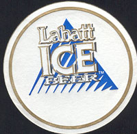 Beer coaster labatt-16