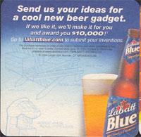 Beer coaster labatt-18-zadek